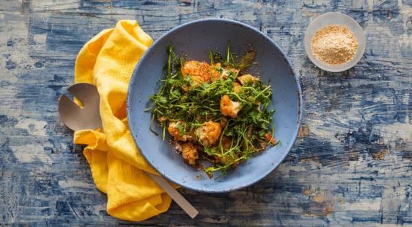 Запеченная цветная капуста, пошаговый рецепт с фото