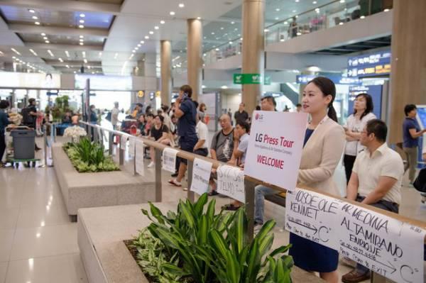 Путешествие в будущее с LG — пресс-тур в Южную Корею