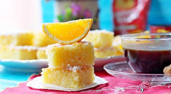 Басбуса — восточная сладость, пошаговый рецепт с фото