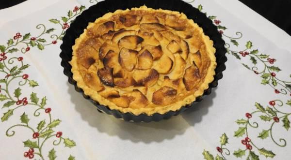 Яблочный пирог (Tarte vergeoise aux pommes), пошаговый рецепт с фото