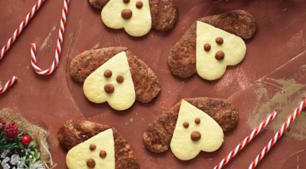 Печенье «Собачки», пошаговый рецепт с фото