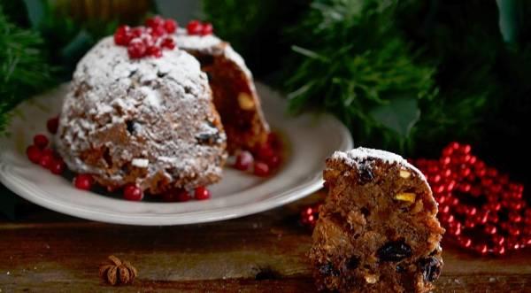 Рождественский пудинг, пошаговый рецепт с фото