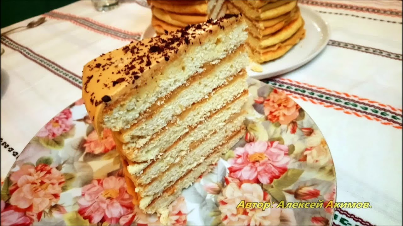 Торт «Рыжик по-деревенски»