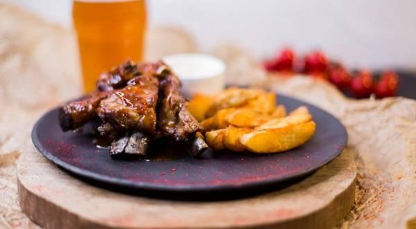 Свиные ребра в соусе sweet chili, пошаговый рецепт с фото