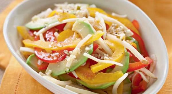 Салат из авокадо с сыром, пошаговый рецепт с фото