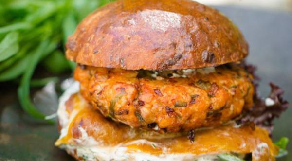 Дзук – бургер, пошаговый рецепт с фото