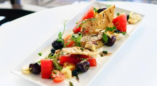 Арбуз с фуа-гра и сыром камамбер, пошаговый рецепт с фото