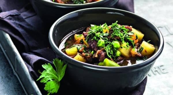 Суп с овощами, говядиной и гречкой, пошаговый рецепт с фото