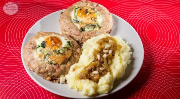 Котлеты из индейки с яйцом, пошаговый рецепт с фото
