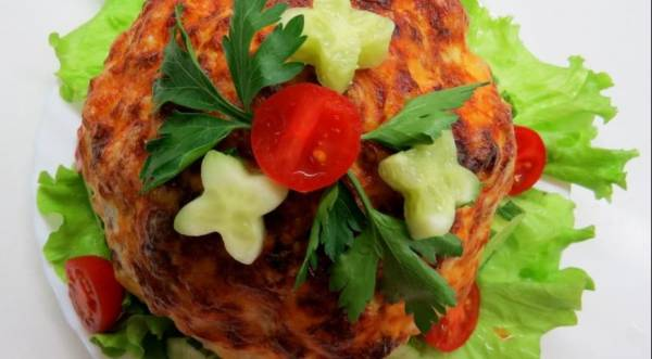 Фаршированная цветная капуста, пошаговый рецепт с фото