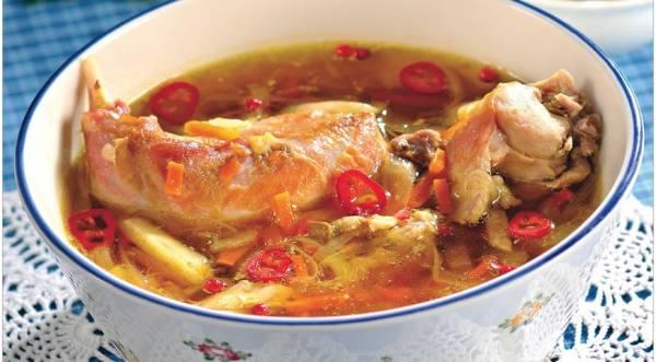 Суп из кролика с каштанами, пошаговый рецепт с фото