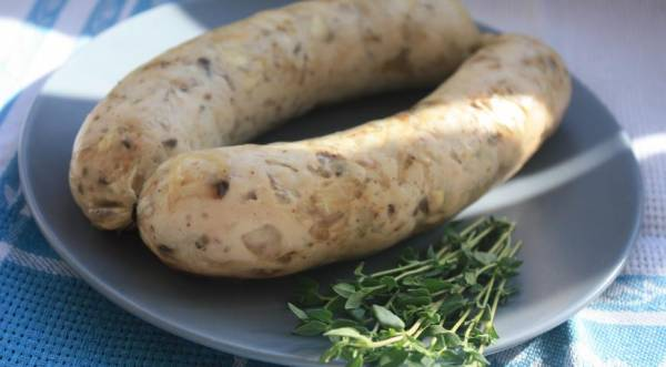 Куриные колбаски с грибами, пошаговый рецепт с фото