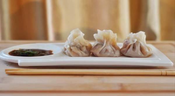 Вонтоны с луком и свининой, пошаговый рецепт с фото