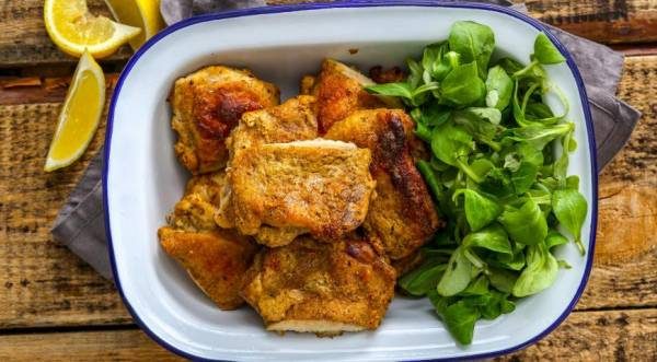 Цыпленок в йогурте, пошаговый рецепт с фото