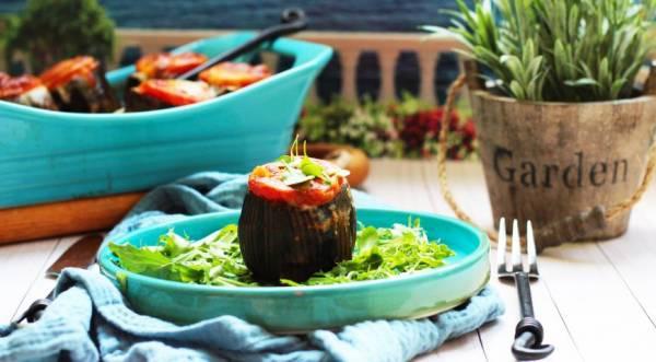 Кебабы в баклажановых горшочках, пошаговый рецепт с фото