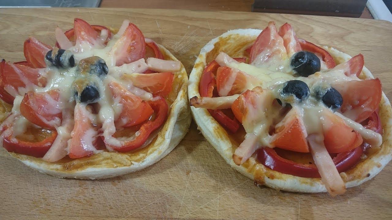 Мини-пицца «Цветок»