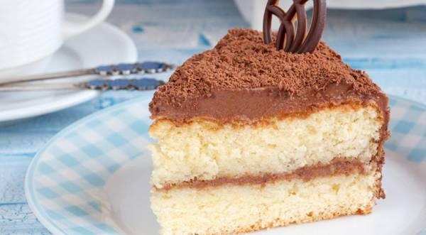 Трюфельный торт с кремом Шарлотт, пошаговый рецепт с фото