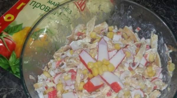 Салат «Необыкновенный», пошаговый рецепт с фото
