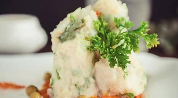 Тельное тяпанное с овощами, пошаговый рецепт с фото