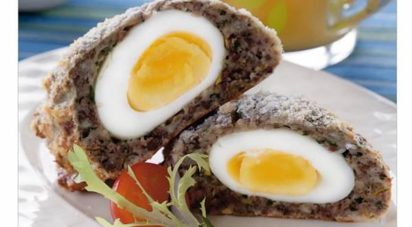 Яйца по-шотландски, пошаговый рецепт с фото