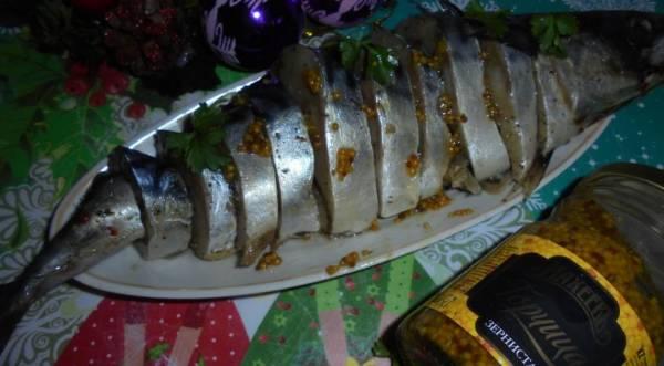 Маринованная скумбрия по-домашнему, пошаговый рецепт с фото