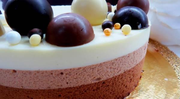 Торт Три шоколада, пошаговый рецепт с фото