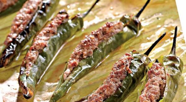 Фаршированные перчики по-тайски, пошаговый рецепт с фото