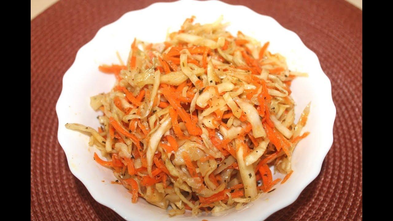 Маринованная капуста по-корейски