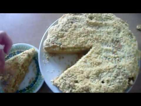 Песочный пирог с творогом «Цып-цып»