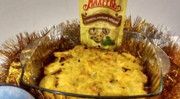 Мясо с картошкой в духовке, пошаговый рецепт с фото