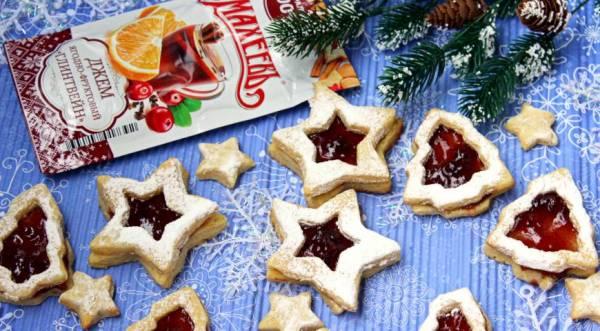 """Печенье """"Новогодний аромат"""", пошаговый рецепт с фото"""