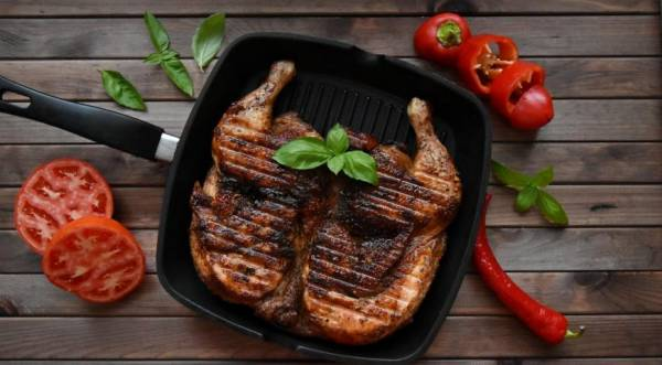 Цыпленок табака, пошаговый рецепт с фото