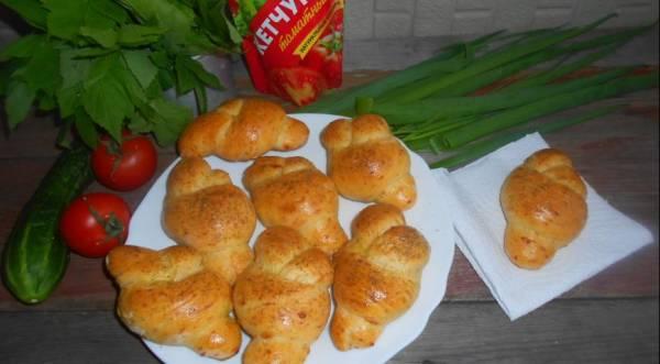 Чесночно-томатные булочки, пошаговый рецепт с фото