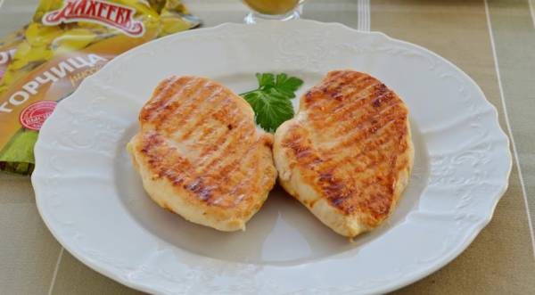 Куриная грудка в горчичном маринаде, пошаговый рецепт с фото