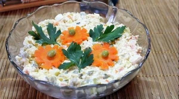 Салат «Столичный», пошаговый рецепт с фото