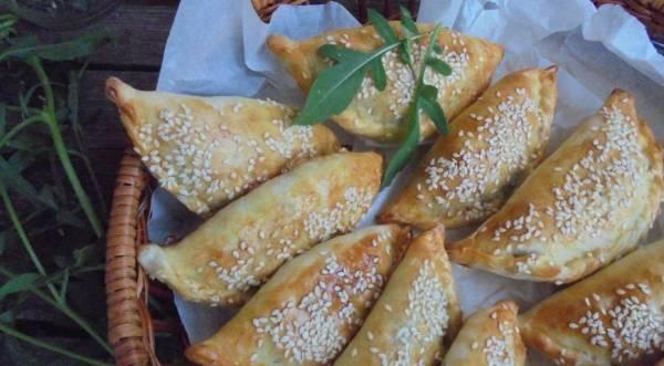 Пирожки с баклажанами и говядиной, пошаговый рецепт с фото