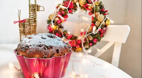 Волшебный рождественский кулич Панеттоне, пошаговый рецепт с фото