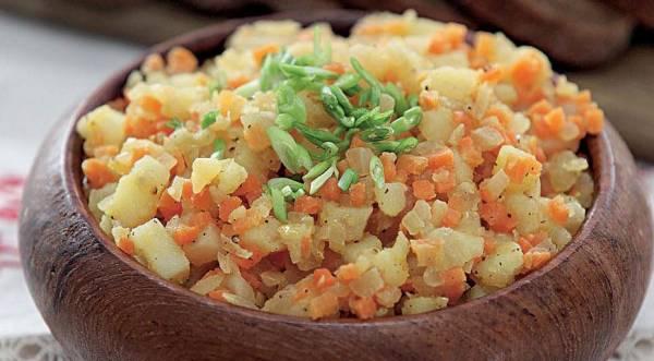 Кашка из овощей, пошаговый рецепт с фото