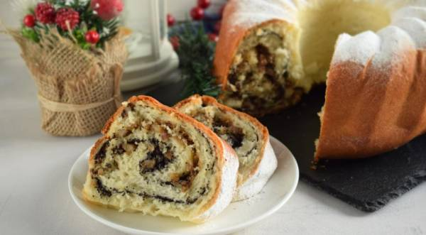 Бейгли (венгерский рождественский рулет), пошаговый рецепт с фото