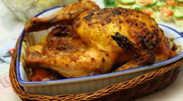 Запеченная острая кунжутная курица, пошаговый рецепт с фото
