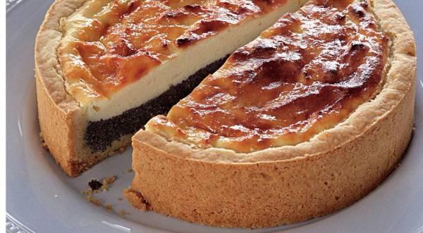 Творожный пирог с маком, пошаговый рецепт с фото