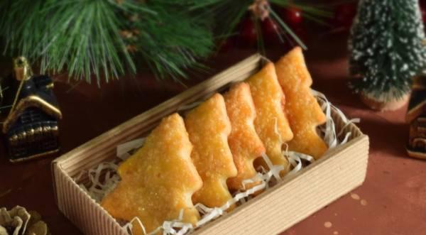 Творожное печенье «Елочки», пошаговый рецепт с фото