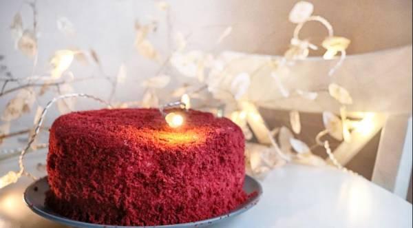 Знаменательный Красный бархат, пошаговый рецепт с фото
