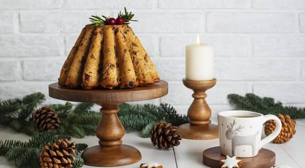 Рождественский фруктовый кекс, пошаговый рецепт с фото