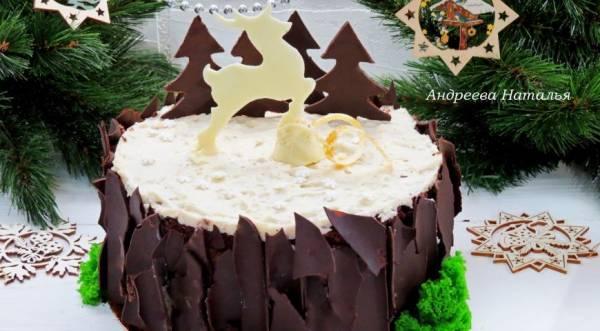 Торт «Черный лес», пошаговый рецепт с фото