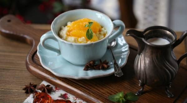 Рисовая каша с апельсинами, пошаговый рецепт с фото