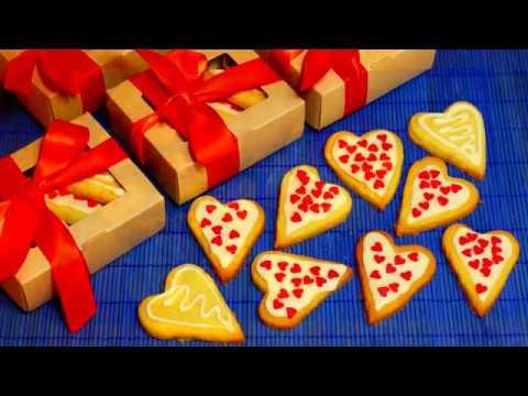 Кокосовое печенье «Валентинка»
