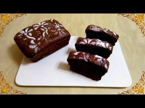 Шоколадный кекс на растительном масле