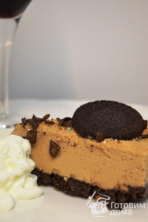 Шоколадно-кофейный чизкейк «Ника» (без выпечки)