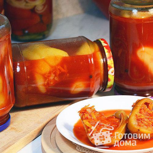 Болгарский перец фаршированный овощами по-болгарски